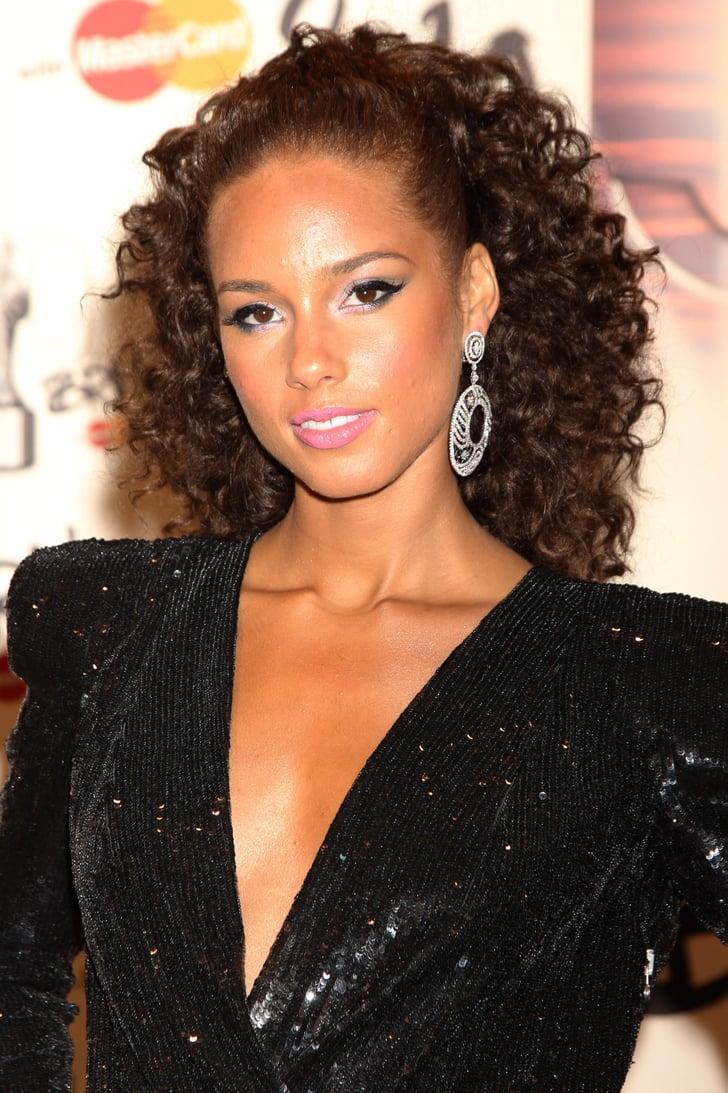2010 Alicia Keys S Best Hair And Makeup Looks Popsugar