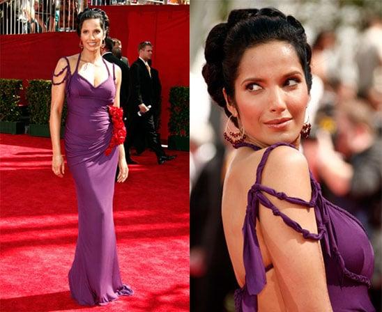 Photos of Padma Lakshmi at 2009 Emmy Awards