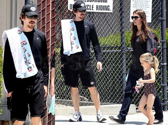 Christian Bale and Emmeline