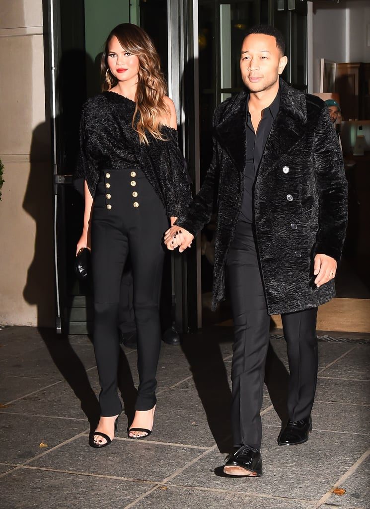 Chrissy Teigen and John Legend Couples Style