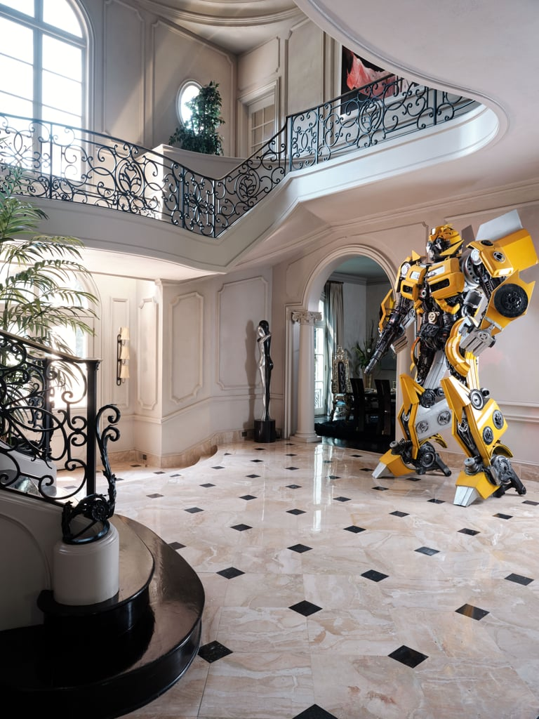 Tyrese Gibson's Transformer-Filled Entryway