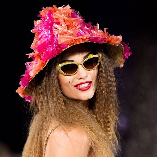 Betsey Johnson Hair and Makeup Spring 2013