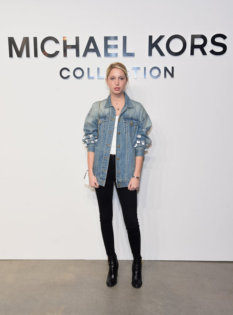 At the Michael Kors show during New York Fashion Week in February 2017.