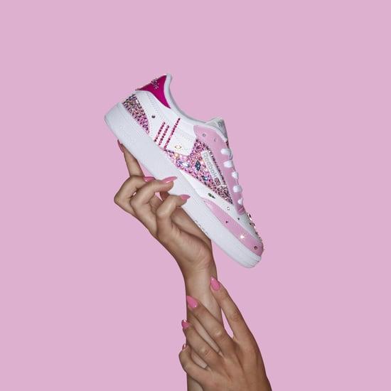 Cardi B's Crystal Nail Art Inspired Reebok Sneakers