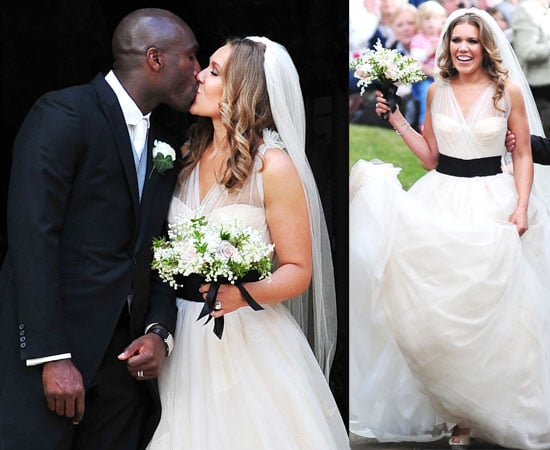 Pictures of Sol Campbell's Wedding To Fiona Barratt