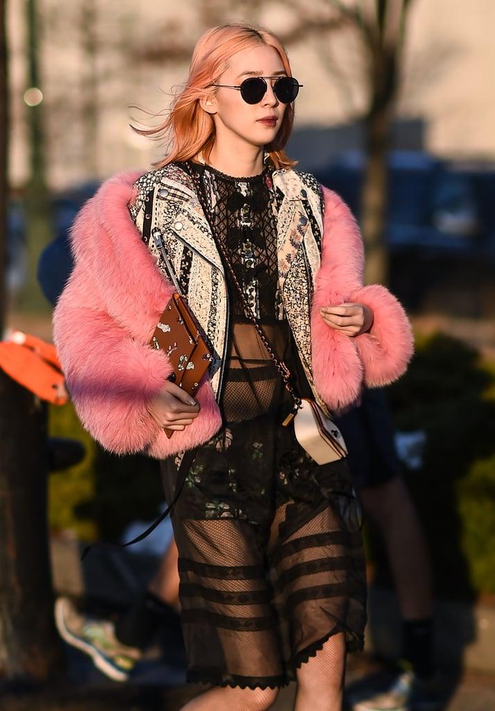 Beauty Street Style New York Fashion Week Fall 2017