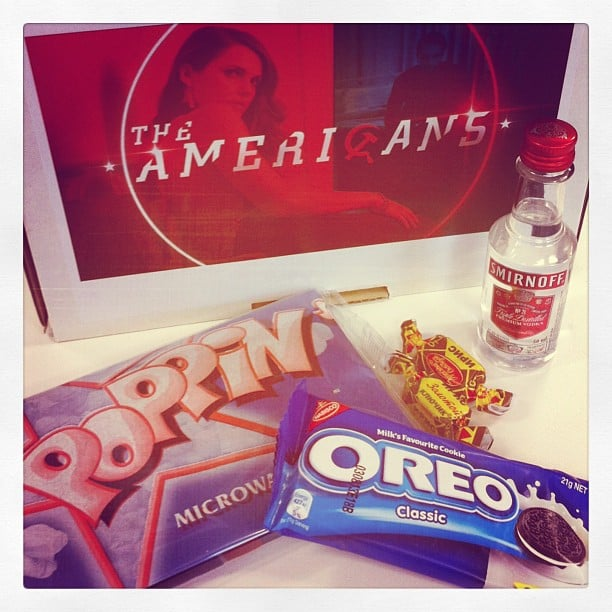 New TV show The Americans debuted on Aussie screens during the week, and we were treated to this delish mix of Russian and American treats — fitting, considering the show is based on Russian spies in America.