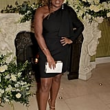 Clara Amfo at the British Vogue and Tiffany & Co. Fashion and Film Party