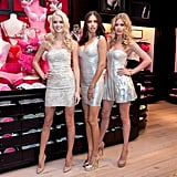Lindsay Ellingson, Adriana Lima, and Doutzen Kroes teamed up in NYC.