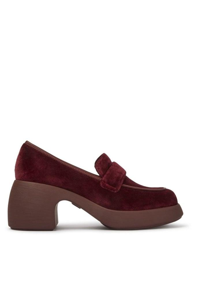 Camper Thelma Moc Toe Loafer Shoe