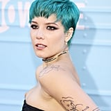 Halsey With Teal Hair