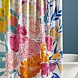 Bridgette Thornton Paint + Petals Shower Curtain