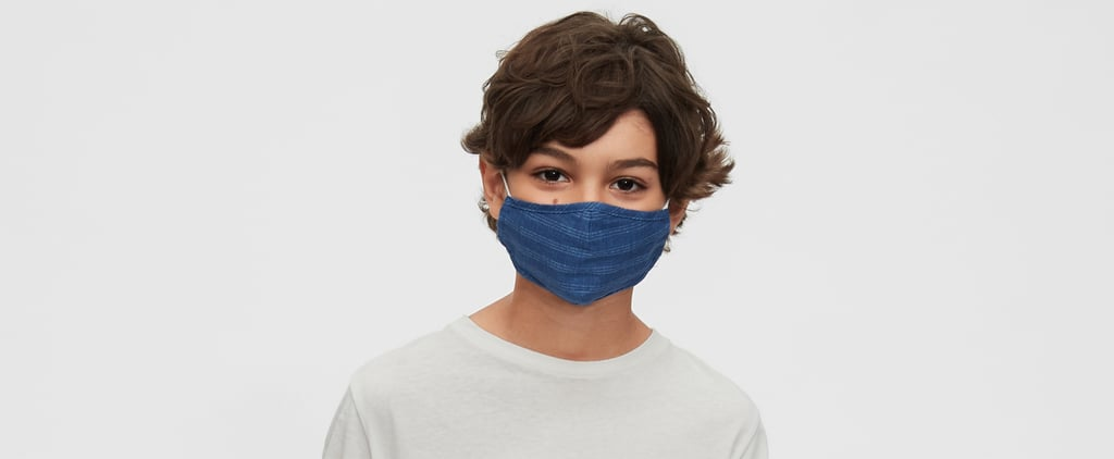 Shop Gap's Inspiring Statement Face Masks For Kids and Teens