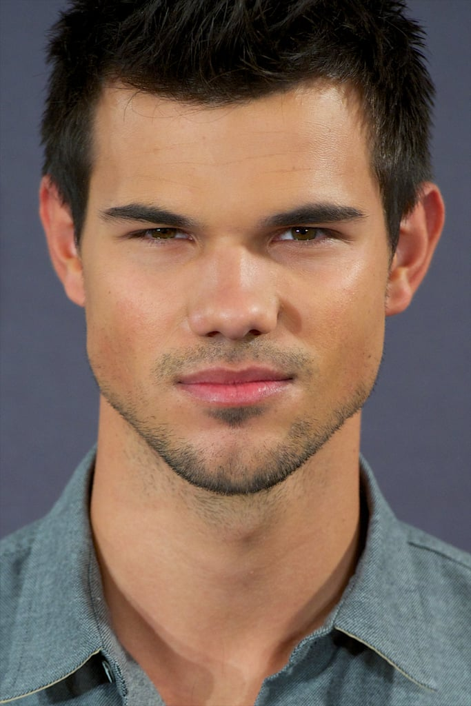 Taylor Lautner promoted Breaking Dawn —Part 2 in Madrid.