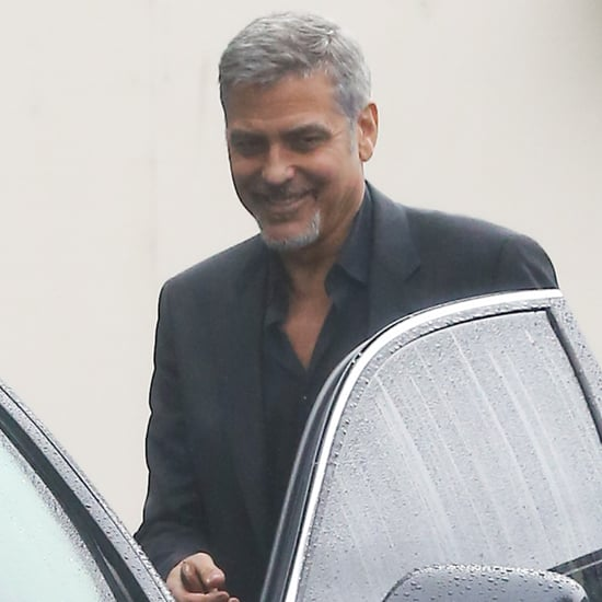 George Clooney Out in LA April 2016