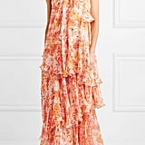 Caroline Constas Ruffled Tiered Maxi Dress