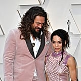 Pictured: Jason Momoa and Lisa Bonet