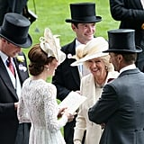 Kate Middleton Mingling With Camilla 2017