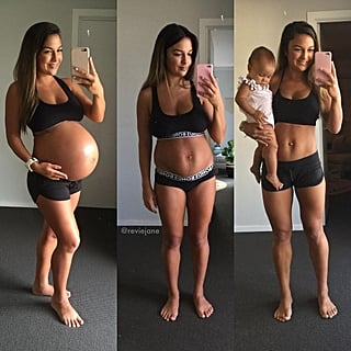 Pregnancy Before-and-After Instagram Fitness Accounts