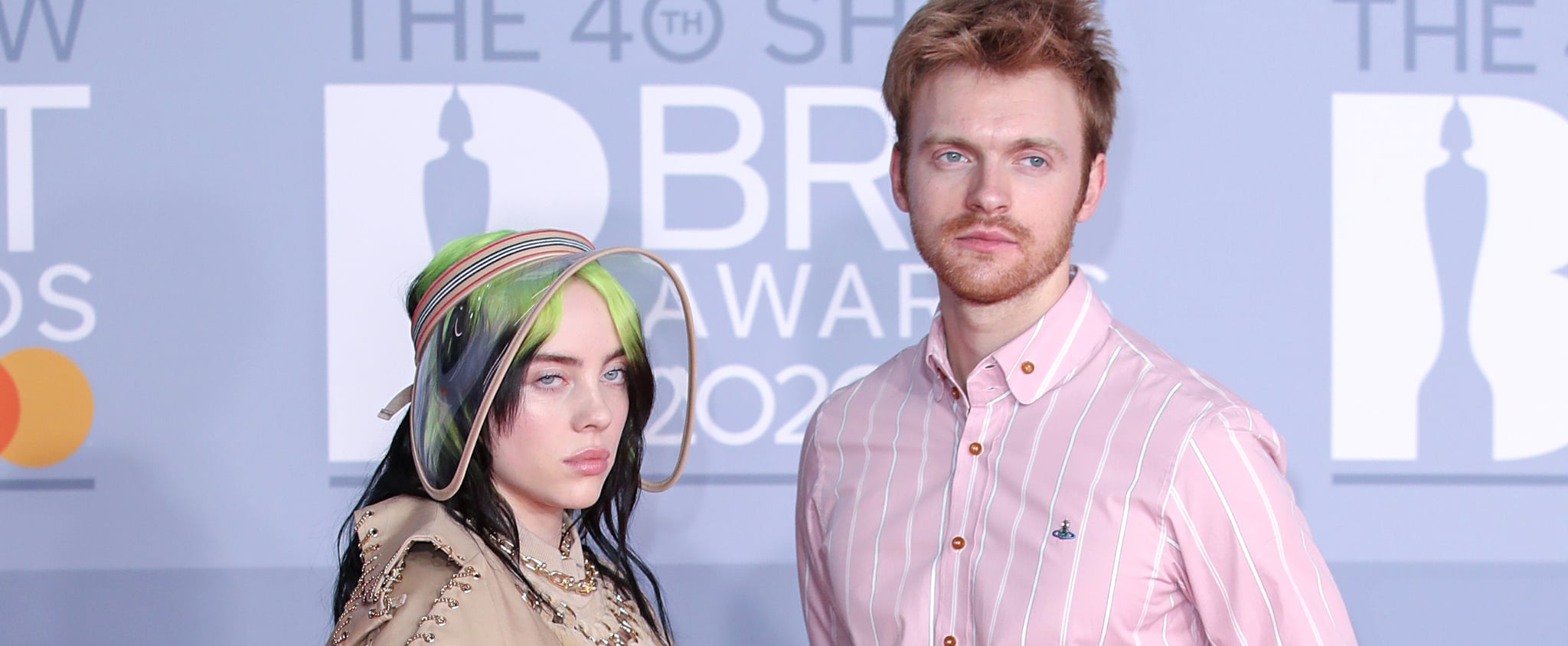 Celebrities at the 2020 BRIT Awards Pictures