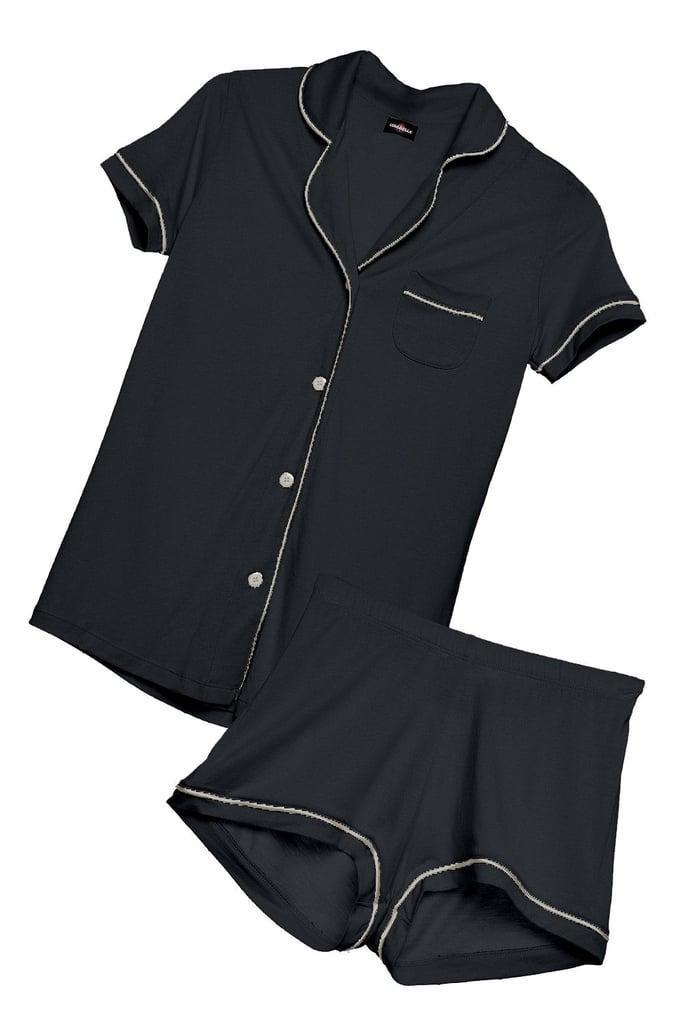 Cosabella Bella Short-Sleeved & Boxer Pajama Set