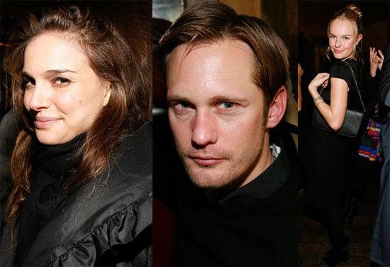 Photos of Natalie Portman, Kate Bosworth, And Alexander Skarsgard at The Last Magazine Party During 2010 Fall New York Fashion