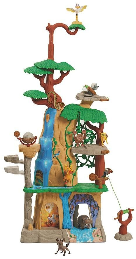 Disney Jr. The Lion Guard Training Lair Playset