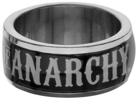 Stainless Steel Logo Ring ($30)