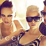 This Gucci ad shows off sultry looks and high profile sunglasses. Source: Fashion Gone Rogue