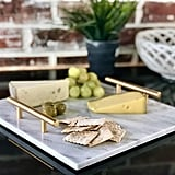 Lumiere 7 Cararra Blanco Marble Cheese Board