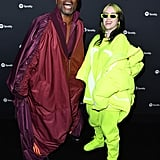 Billie Eilish's Lime Green Louis Vuitton Outfit