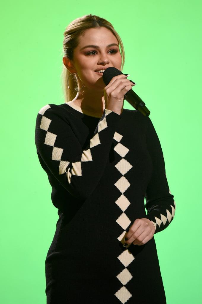 Selena Gomez's Global Citizen Vax Live French Twist Manicure