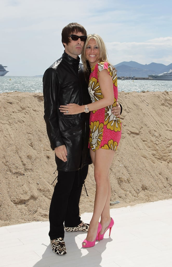 Photos of Liam Gallagher and Nicole Appleton at the Cannes Film Festival 2010