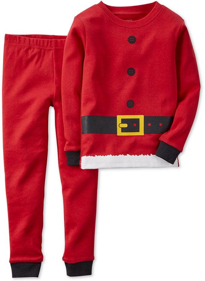 Carter's Toddler Boys' 2-Piece Santa Suit Pajamas