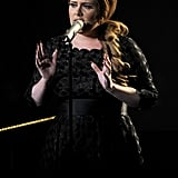 Adele performs at the 2011 MTV VMAs.