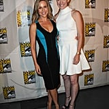 Jennifer Carpenter and Julie Benz reunited at the panel for Dexter.