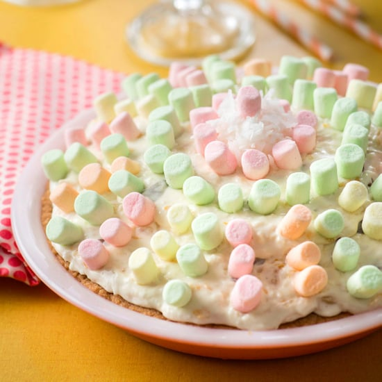 Mermaid Marshmallow Pie Recipe