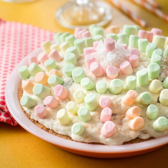 Mermaid Marshmallow Pie Recipe
