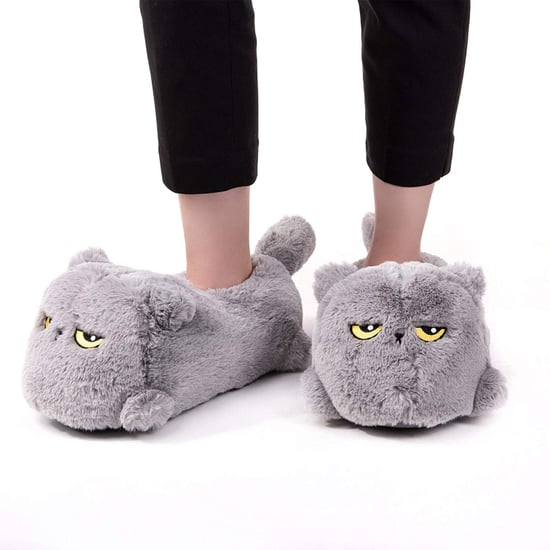 Heated Cat Slippers