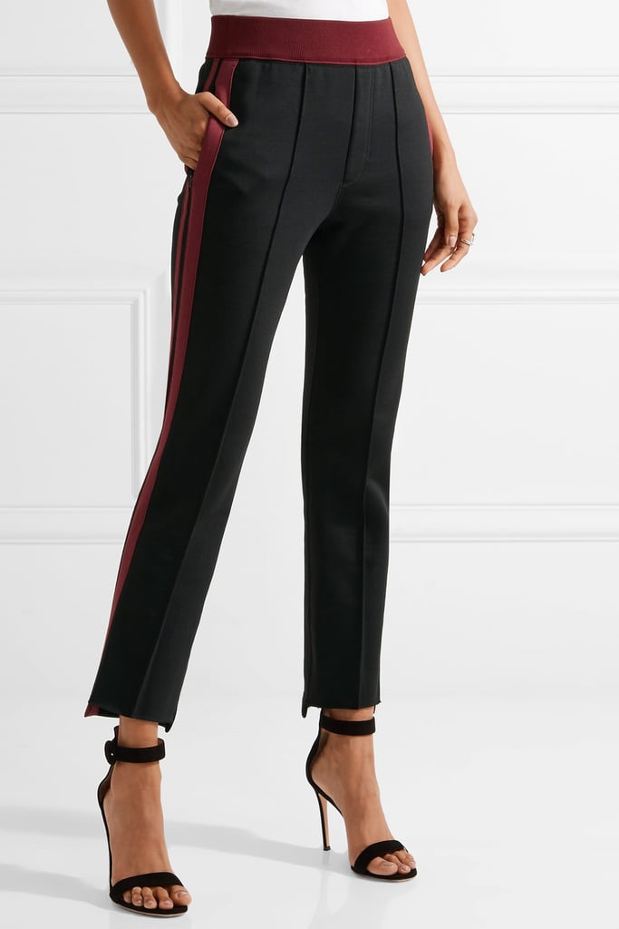 Helmut Lang Striped Jersey Track Pants