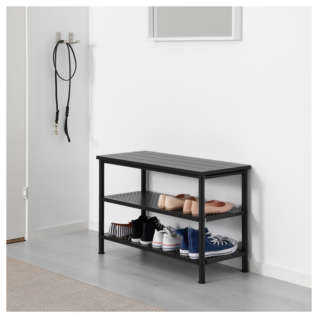 Pinnig Bench With Shoe Storage