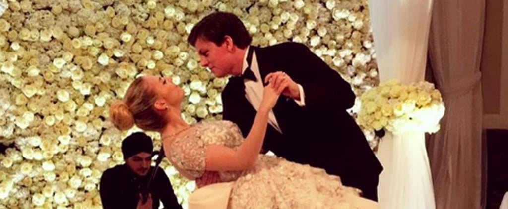 This 19-Year-Old Russian Bride's Wedding Dress Was So Extravagant, 4 People Held the Train