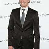 Michael Fassbender looked handsome on the black carpet.