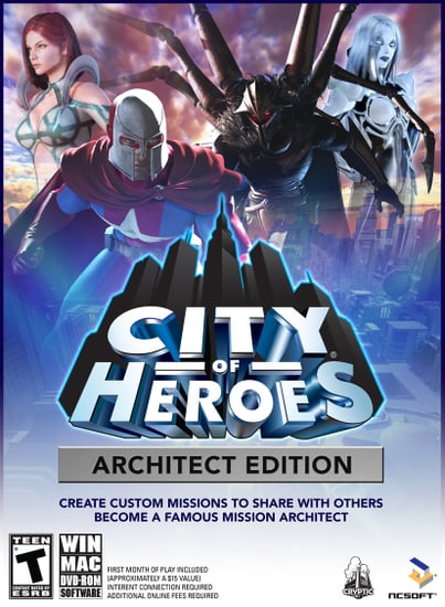 City of Heros Architect Edition Sneak Peek and Screenshots