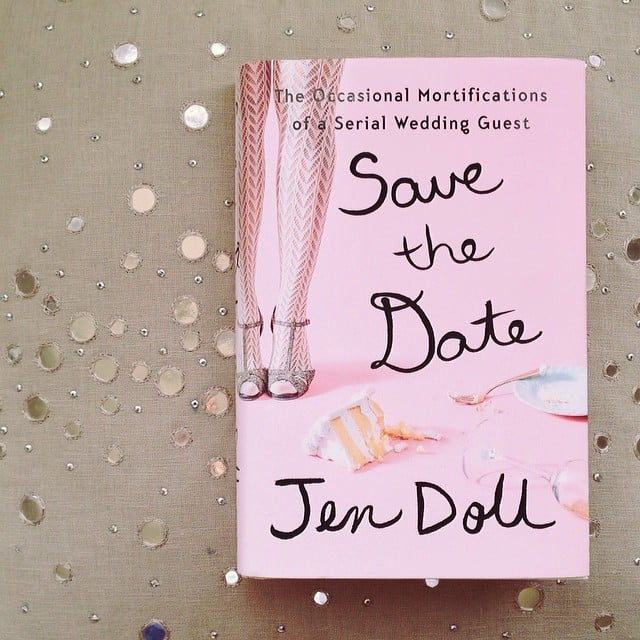 Obsessed with the cover of Jen Doll's Save the Date.