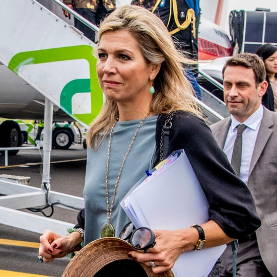 Queen Máxima's Flat Sandals in Indonesia 2018