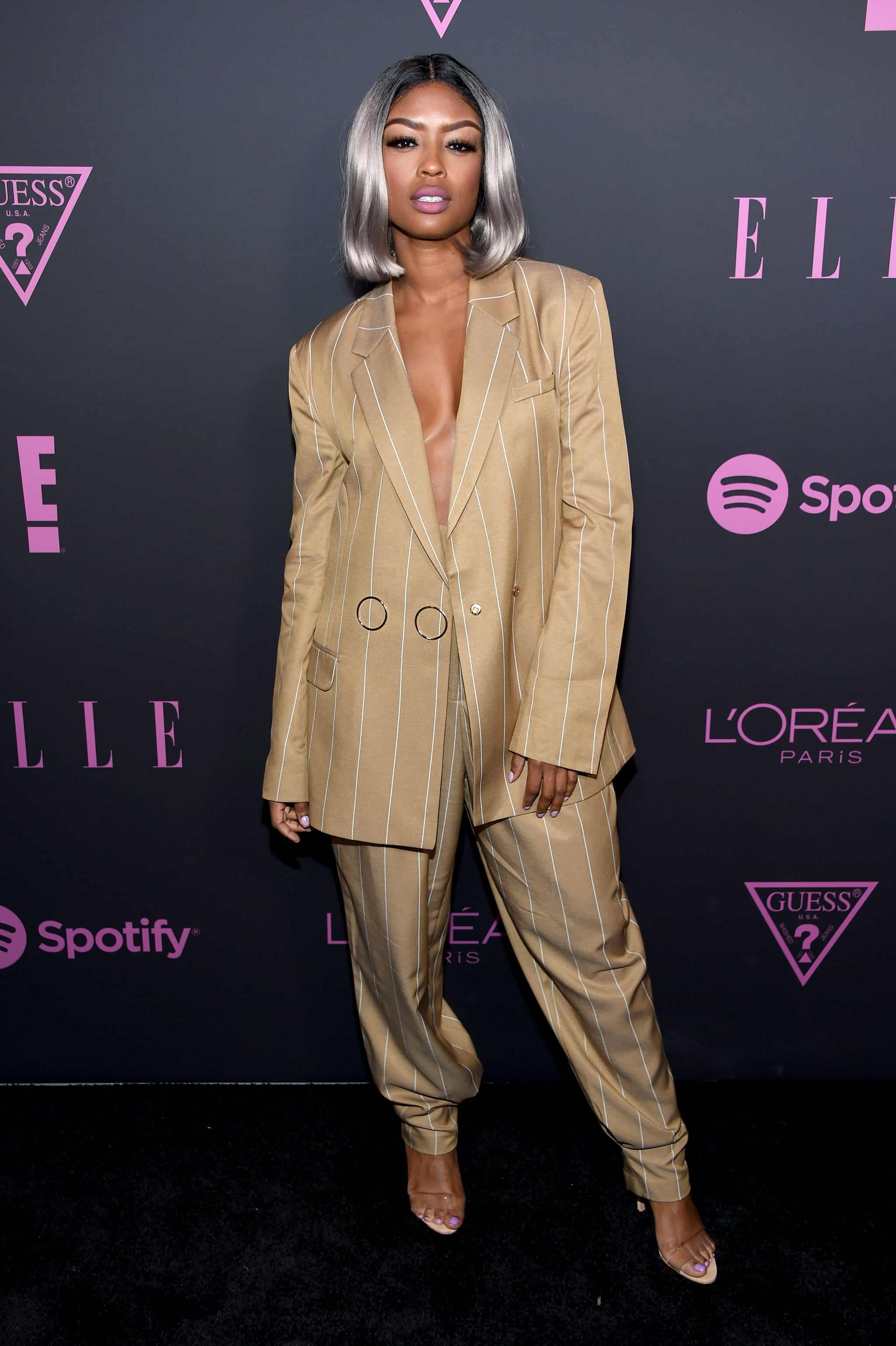 NEW YORK, NEW YORK - SEPTEMBER 05: Javicia Leslie attends ELLE, Women in Music presented by Spotify and hosted by Nina Garcia, Jameela Jamil & E! Entertainment on September 05, 2019 in New York City. (Photo by Dimitrios Kambouris/Getty Images for ELLE)