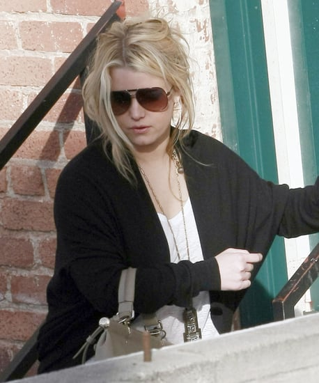 Pictures of Jessica Simpson and Eric Johnson at Lunch in LA
