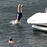 One Direction Shirtless in Australia Pictures