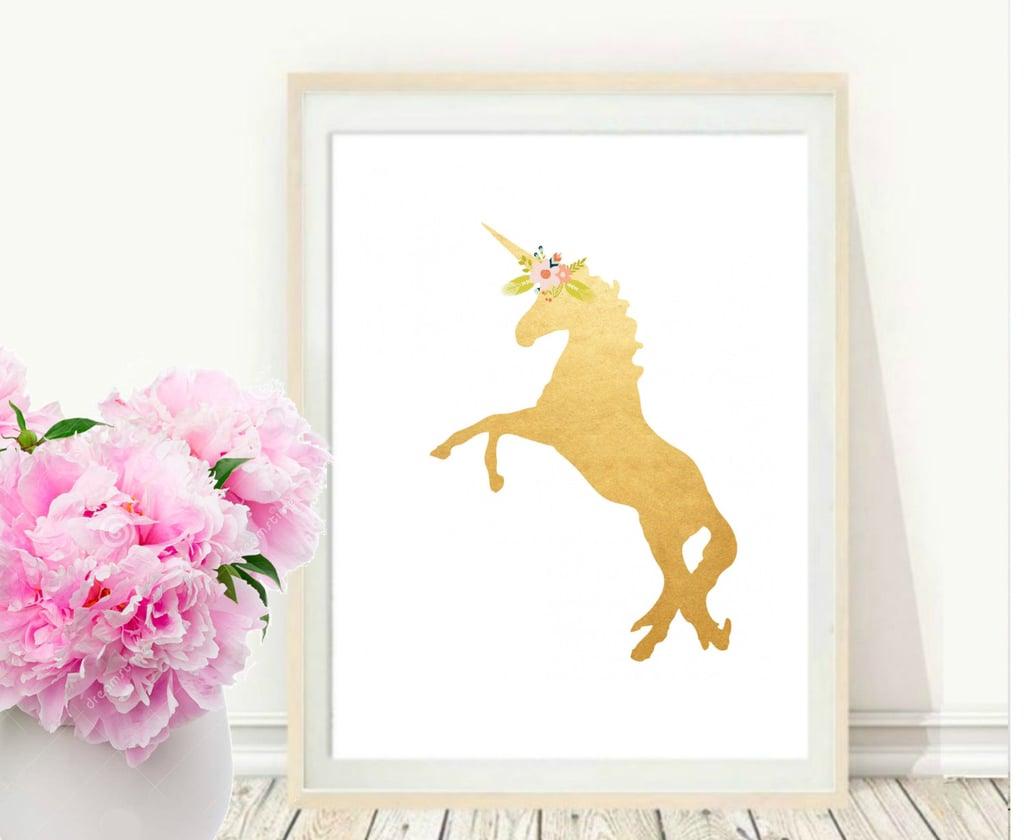 Unicorn Print ($6)